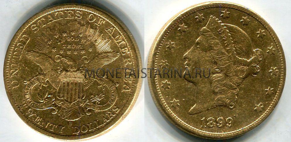 Монета серебряная 20 долларов сколько стоят царские монеты цены сейчас