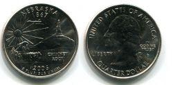 Монеты 2006 года quarter dollar по штатам - невада 1864г, небраска 1867г, колорадо 1876г, северная дакота 1889г